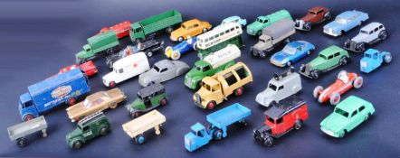 LARGE COLLECTION OF VINTAGE DINKY TOYS & CORGI TOYS DIECAST CARS