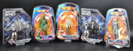 DOCTOR WHO - COLLECTION OF CLASSIC SERIES CARDED ACTION FIGURES