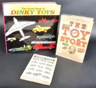 THE GREAT BOOK OF DINKY TOYS ILLUSTRATED REFERENCE BOOK
