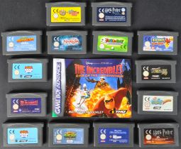 COLLECTION OF ORIGINAL NINTENDO GAMEBOY ADVANCE GAMES