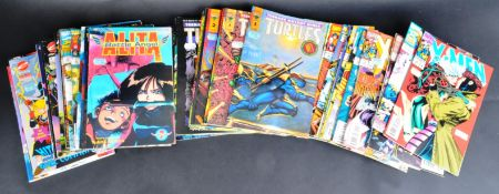 LARGE COLLECTION OF VINTAGE ACTION ADVENTURE COMIC BOOKS