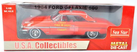 SUN STAR ' USA COLLECTIBLES ' 1/18 SCALE DIECAST MODEL CAR