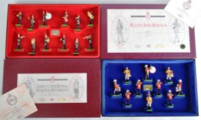 TWO LIMITED EDITION BRITAIN MADE LEAD SOLDIER BOX SETS