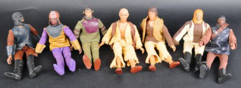 PLANET OF THE APES - COLLECTION OF VINTAGE MEGO ACTION FIGURES