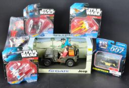 COLLECTION OF ASSORTED TV & FILM RELATED DIECAST MODELS