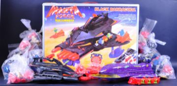 VINTAGE BLUEBIRD MANTA FORCE ACTION FIGURE PLAYSETS & ACCESSORIES