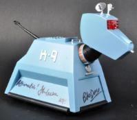 DOCTOR WHO - JOHN LEESON & BOB BAKER - 1/6 SCALE AUTOGRAPHED K9 FIGURE