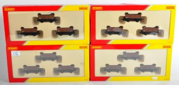 COLLECTION OF X4 HORNBY 00 GAUGE WAGON PACKS