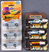 COLLECTION OF X6 ASSORTED MATCHBOX SUPERFAST DIECAST MODELS