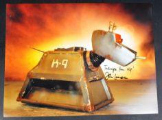 """DOCTOR WHO – K9 – JOHN LEESON AUTOGRAPHED 16X12"""" PHOTO"""