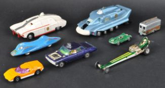 COLLECTION OF ASSORTED VINTAGE DIECAST MODEL CARS
