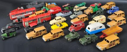 LARGE COLLECTION OF VINTAGE DIECAST MODEL CARS