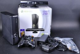 ORIGINAL XBOX 360 250GB CONSOLE WITH KINECT SENSOR AND GAMES
