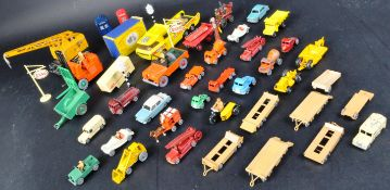 LARGE COLLECTION OF VINTAGE LESNEY & DINKY TOYS DIECAST