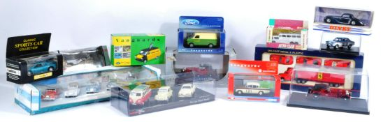 LARGE COLLECTION OF ASSORTED DIECAST MODEL CARS