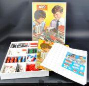 ORIGINAL VINTAGE LEGO SYSTEM TOWN PLAN SET