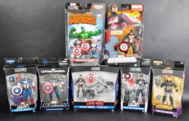 COLLECTION OF ASSORTED HASBRO CAPTAIN AMERICA ACTION FIGURES