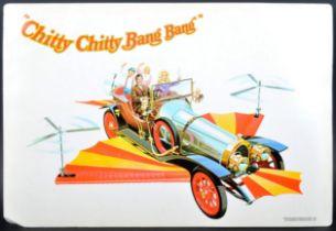 CHITTY CHITTY BANG BANG - VINTAGE CARDBOARD ARTWORK
