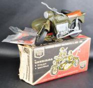 ACTION MAN - VINTAGE CHERILEA TOYS GERMAN ARMY MOTORCYCLE