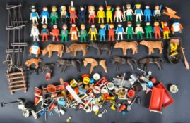 LARGE COLLECTION OF VINTAGE PLAYMOBIL PLAYPEOPLE & ACCESSORIES