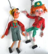 PELHAM PUPPETS - EARLY SS PINOCCHIO & TORCHY THE BATTERY BOY