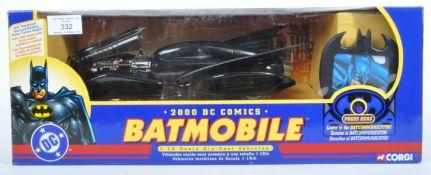 LARGE CORGI MADE DC COMICS DIECAST BATMOBILE MODEL