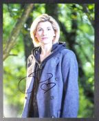 """DOCTOR WHO - JODIE WHITTAKER (13TH DOCTOR) - SIGNED 8X10"""" PHOTOGRAPH"""