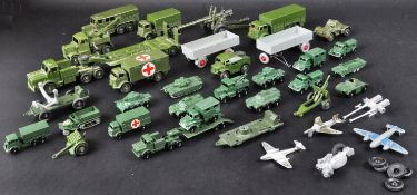 LARGE COLLECTION OF VINTAGE MILITARY INTEREST DIECAST MODELS