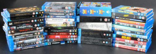 COLLECTION OF SUPERHERO BLU RAY / BLURAY DVDS (INC BOXSET SETS)