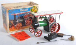 MAMOD LIVE STEAM MODEL STEAM TRACTOR TE1A TRACTION ENGINE