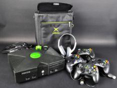 ORIGINAL MICROSOFT XBOX VIDEO GAMES CONSOLE & ACCESSORIES