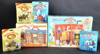 WALLACE & GROMIT - VINTAGE BOXED PLAYSETS