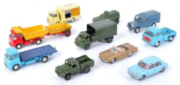 COLLECTION OF ASSORTED VINTAGE DINKY & CORGI TOYS DIECAST MODELS