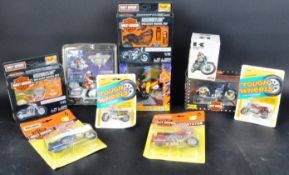 COLLECTION OF ASSORTED MOTORCYCLE INTEREST DIECAST MODELS