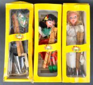 COLLECTION OF X3 VINTAGE WOODEN PELHAM PUPPETS