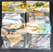 AIRFIX - COLLECTION OF X4 VINTAGE BAGGED SETS, SEALED