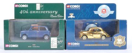 TWO CORGI LIMITED EDITION DIECAST MODEL CARS