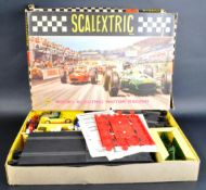 SCALEXTRIC - VINTAGE SLOT RACING SET 31 - WITH CARS