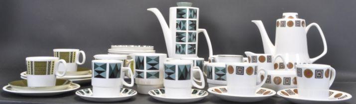 MID CENTURY PART TEA / COFFEE SETS INCLUDING WASHINGTON
