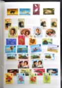 STAMPS - LARGE COLLECTION OF ALL-WORLD STAMPS IN ALBUMS