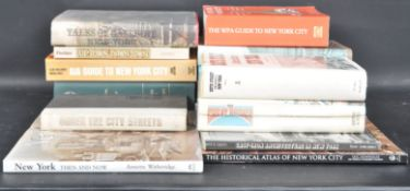 LARGE COLLECTION OF NEW YORK RELATED BOOKS