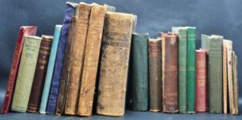BRISTOL BOOKS - COLLECTION OF 19TH CENTURY & 20TH CENTURY
