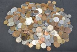 LARGE COLLECTION OF 20TH CENTURY OF COINS