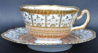 EARLY 19TH CENTURY LATE GEORGIAN PORCELAIN TEA SET