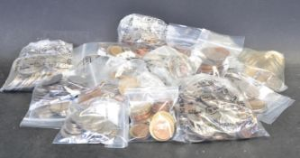 LARGE COLLECTION OF CONTINENTAL - WORLD COINS