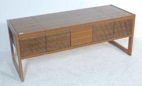 RETRO VINTAGE 20TH CENTURY TEAK CASED HMV STEREOGRAM