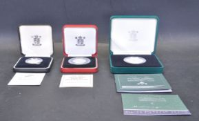 COLLECITON OF SILVER PROOF PIEDFORT COINS