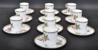 COLLECTION OF EARLY 20TH CENTURY AYNSLEY FINE BONE CHINA