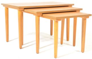MINTAGE MID 20TH CENTURY DANISH INSPIRED NEST OF TABLES