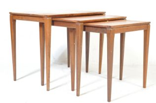 RETRO VINTAGE MID 20TH CENTURY DANISH INSPRIED NEST OF TABLES